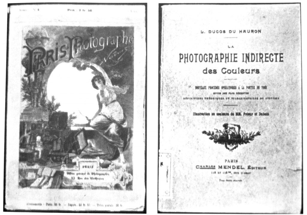 Giornale Francese della fine del secolo scorso che trattava di temi fotografici e la pubblicazione del procedimento di Daguerre