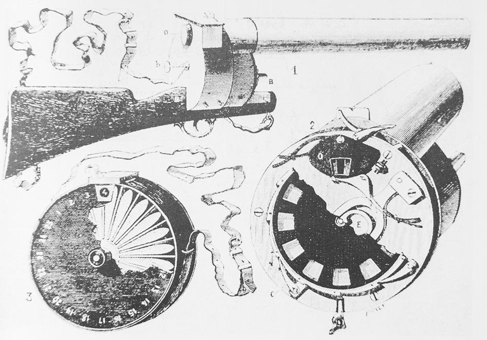 Fucile fotografico di Marrey