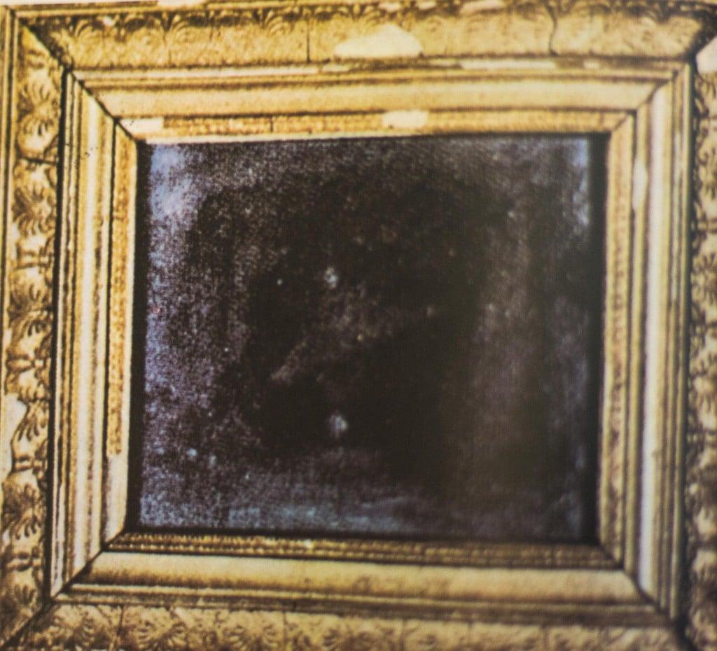 La prima fotografia realizzata da Nièpce nel 1826 direttamente positiva e molto confusa