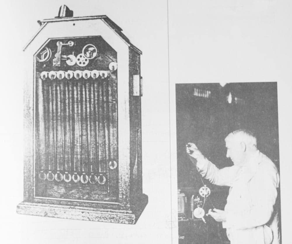 Cinetoscopio di Tommaso Edison