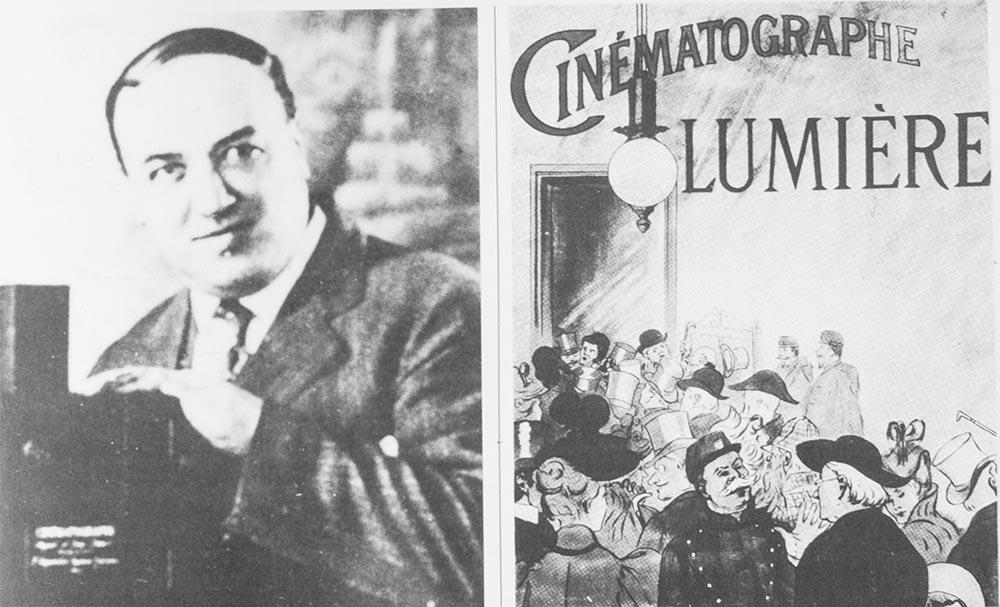 Francis Doublier: uno dei primi operatori dei fratelli Lumière e un manifesto pubblicitario