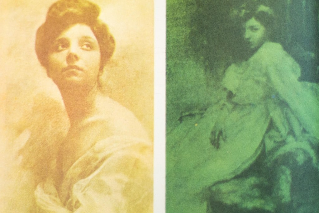 Alcune delle prime foto a colori
