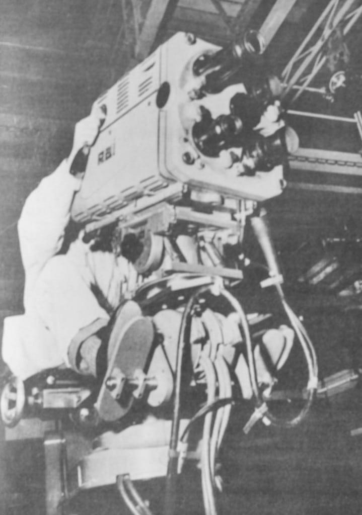 Una delle prime telecamere