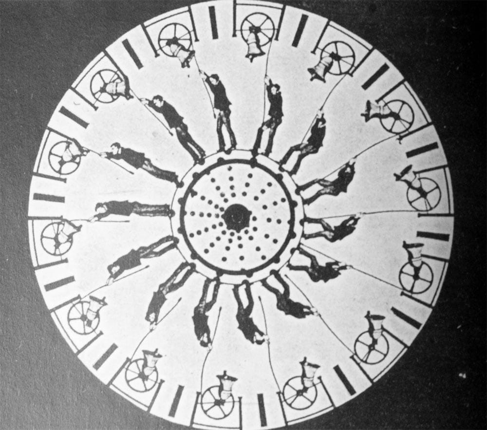 Il disco del fenachistocopio sfrutta appunto il fenomeno della persistenza retinica