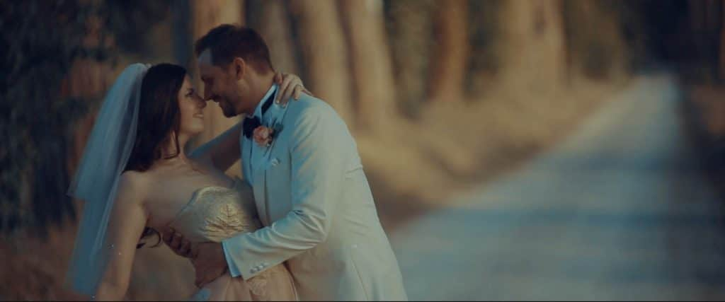 australian groom and bride