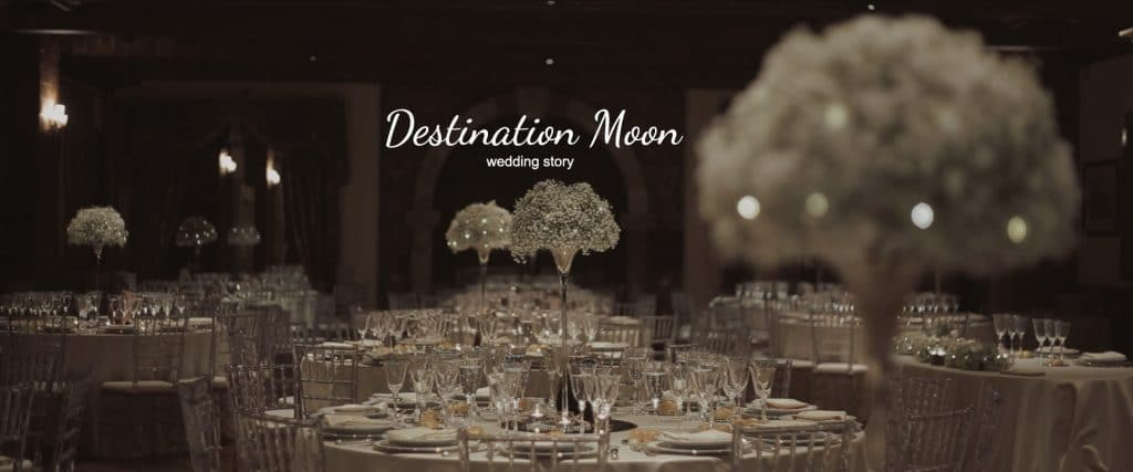 destination moon wedding story